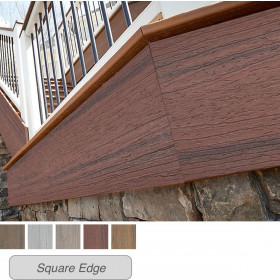Install Trex Enhance Naturals Fascia Boards