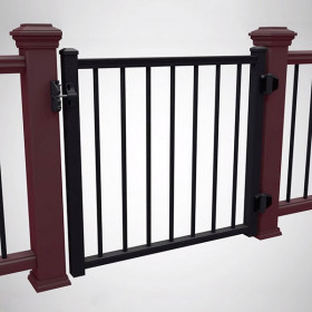 Signature Adjustable Aluminum Gate by Trex