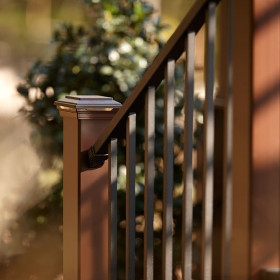 Signature Stair Rail & Baluster Kit by Trex - Charcoal Black