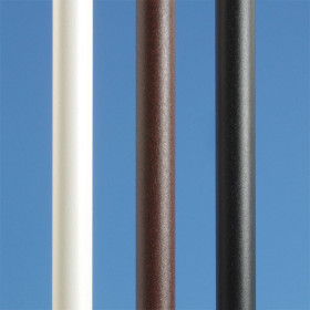 Transcend Round Aluminum Baluster Packs by Trex - Classic White, Bronze & Charcoal Black