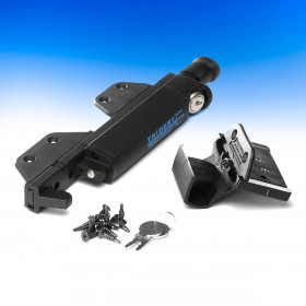 TRIDENT Magnetic Pool Latch by Nationwide Industries - Black - 10 in