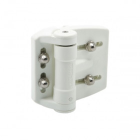 TruClose Adjustable Self-Closing Gate Hinges - White