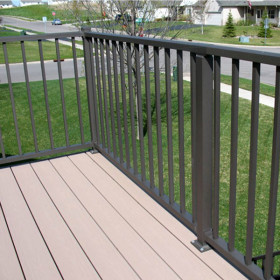 Tuscany Level Rail Kit by Westbury Aluminum Railing