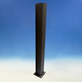 Deco Post for Westbury Aluminum Rail