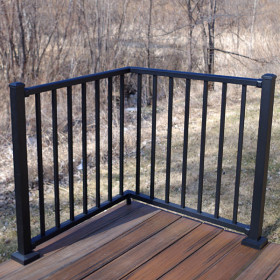 Tuscany Corner Section Kit by Westbury Aluminum Railing