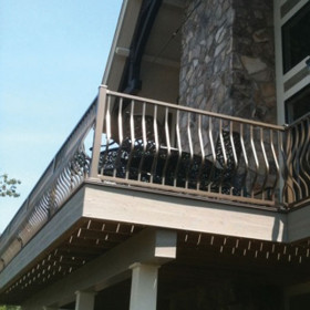 Montego Level Rail Section Kits By Westbury Aluminum Railing