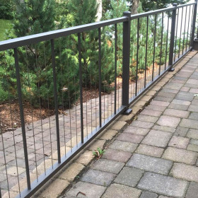 VertiCable Level Rail Section Kits By Westbury Aluminum Railing