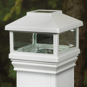 Solar Post Cap Light for CXT Pro Railing by Deckorators