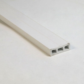 Zip-Up UnderDeck Pitch Rail - 1/2""