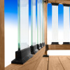 Frontier Glass Balusters by Deckorators for Aluminum Railing