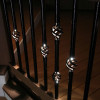 Dekor Single Basket Round Balusters with Light