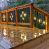 Dekor Double Basket Round Balusters with Lights