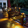 Dekor Double Basket Square Balusters with Lights
