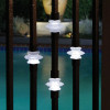 Dekor Single Casey Collar Square Balusters with Light
