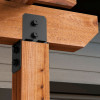 Ironwood Column Cap by OZCO Ornamental Wood Ties