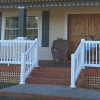 The Westport Vinyl Stair Rail Kit by Durables