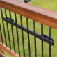 Mounting Rail by Hold It Mate - Installed - 36 in