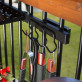Tool Hook Bundle by Hold It Mate (grilling accessories not included)