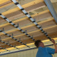L-Bracket with Screws for UpSide Deck Ceiling - Installation - Installed on Joists with Starter Strips and Glide Clips