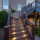 LED Pyramid Post Cap Light by Trex Deck Lighting