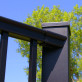 Post-to-Post Additional Aluminum Rail Bracket Kit by Afco- 45 degree top bracket, textured black