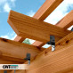 Ironwood Rafter Clips by OZCO Ornamental Wood Ties - 2 in High Velocity