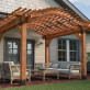 Laredo Sunset Rafter Seam by OZCO Ornamental Wood Ties - Installed