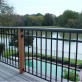 FE26 Accent Top Panel by Fortress - 3 Rail with attached deck board as top rail
