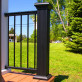 Aluminum Newel Post Cover Kit by Afco