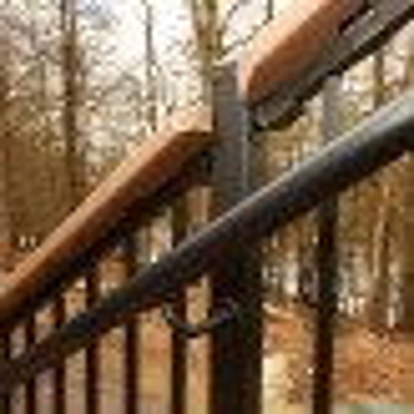 AL13 Aluminum Handrail by Fortress
