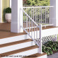 ALX Classic Complete Stair Railing Kit by Deckorators - Posts Sold Separately - Textured White