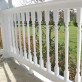 The Ashington Vinyl Deck Railing by Durables - White
