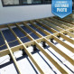 Versadjust Adjustable Deck Supports by Bison with Joist Top Accessory (sold separately)