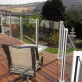 Scenic Posts by Century Aluminum Railings - Corner Post and Line Posts in White