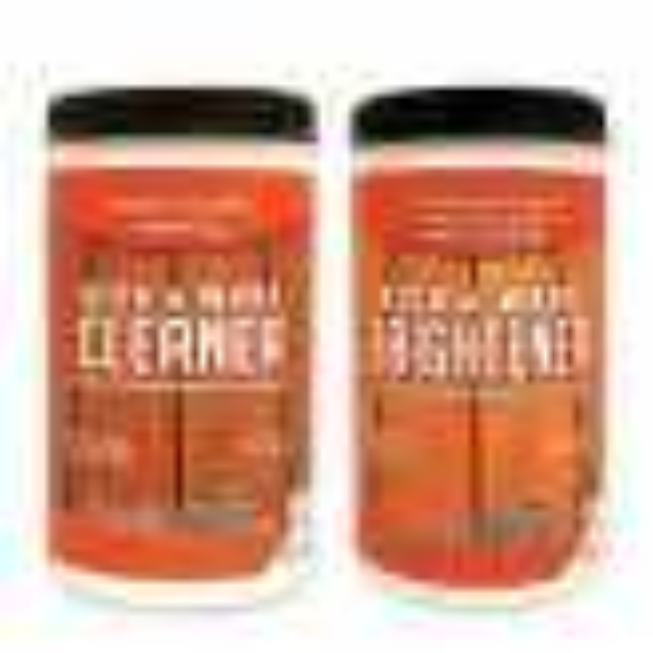 Wood Deck Cleaner and Brightener by DeckWise - 32 oz. jars
