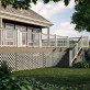 Deck Board Railing Connector by Deckorators - Installed with ALX Railing