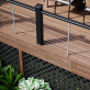 Complete your deck's look and conceal the substructure with Deckorators Vault Fascia in Mesquite.