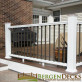 Deckorators CXT Railing System - Estate Square Balusters