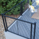 FE26 Level Horizontal Cable Railing by Fortress Installed
