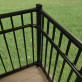 90 Degree Elbow Handrail Return by Westbury Aluminum Railing (Shown with Inside Corner Mount)