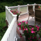The Manchester Vinyl Deck Rail by Durables - White