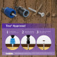 Epoxy Coated Steel Pro Plug System for Trex Fascia by Starborn (tool sold separately)