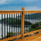 Deck Posts by Vista - installed with Somerset Deck Railing Kit