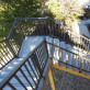 Tuscany Stair Rail Section Kits by Westbury Aluminum Railing - Bronze Fine Texture