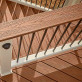 Transcend Round Aluminum Baluster Packs by Trex - Charcoal Black