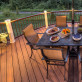LED Flat Post Cap Light by Trex Deck Lighting