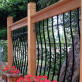 Deck Posts by Vista - installed with Tuscany Deck Railing Kit