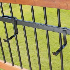 Discover the strength of Heavy Duty Brackets by Hold It Mate on your deck.