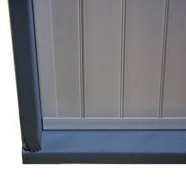 C-Channel for UpSide Deck Ceiling - Installed - Corner - Details