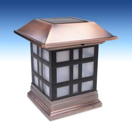 Deckorators Dynasty Solar Post Cap Light